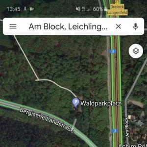 Parkplatz L288 Leichlingen Waldparkplatz