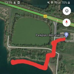 Werratalsee Nordufer
