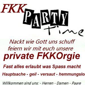 Frivole FKK Orgie