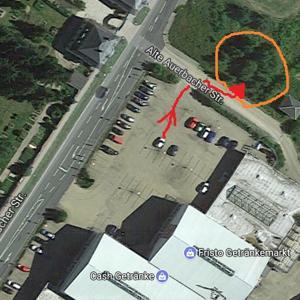 Parkplatz Outlet Ellefeld