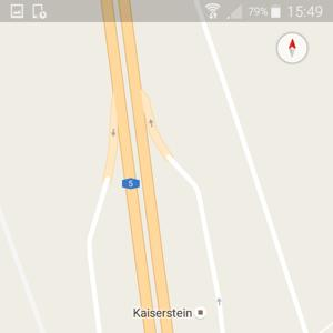 A5 Zwischen Langen und Frankfurter Kreuz